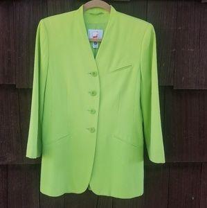 Mondi Lime Green Suit Jacket
